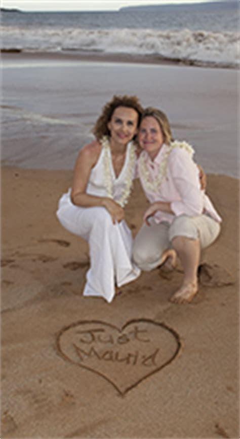 Gay Wedding Packages on Maui   Gay Hawaii Wedding   Gay