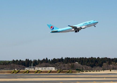 Korean Air from Narita