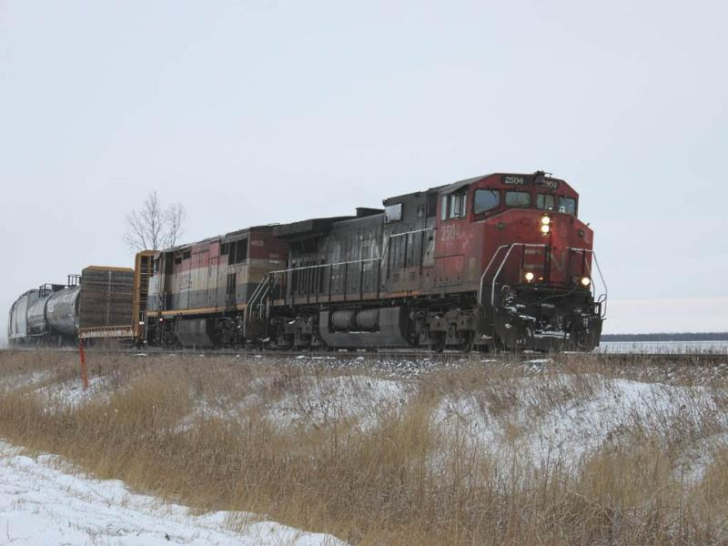 CN 2504 near Winnipeg