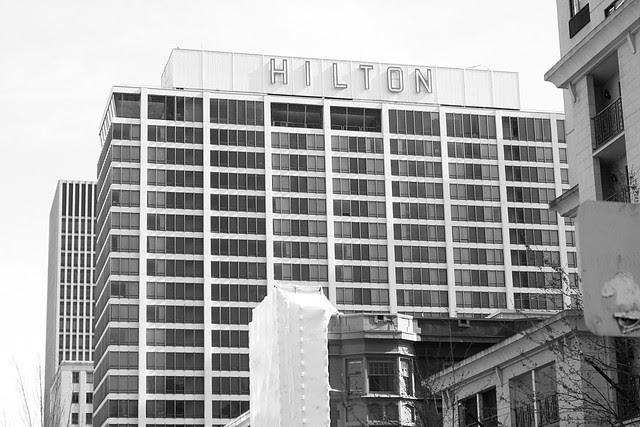 hilton, pdx