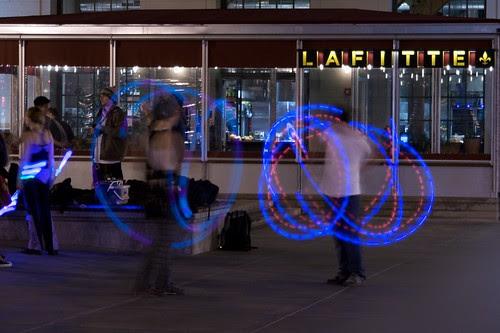 Light juggling