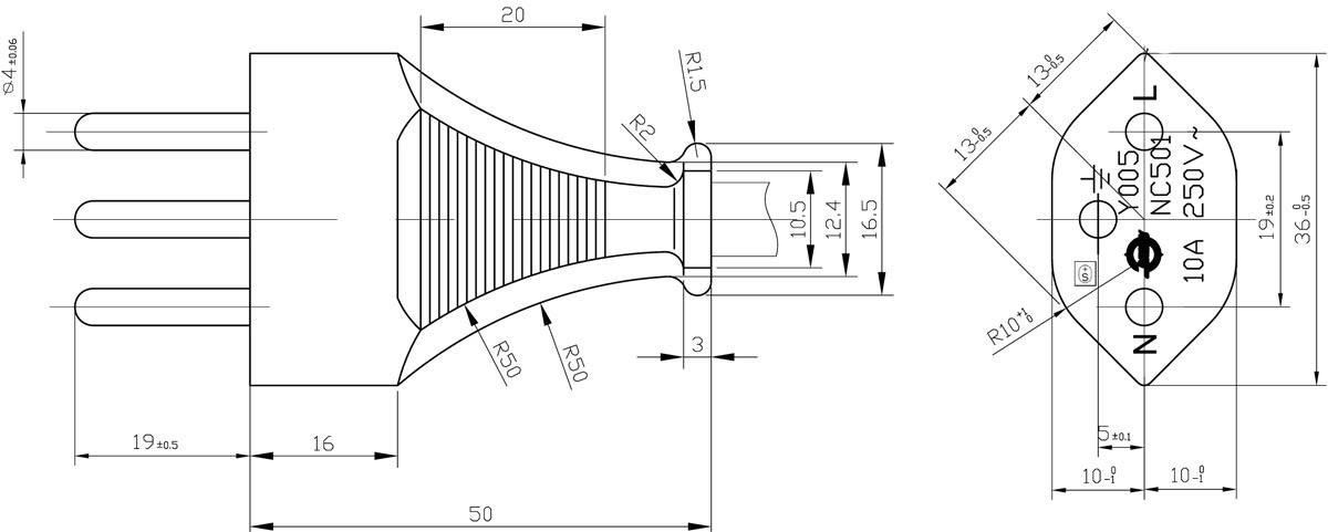 Swis 5 Prong Schematic Wiring