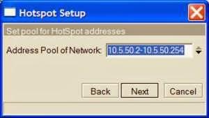 hotspot step 4 Cara Setting Hotspot MikroTik