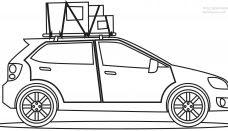 Bmw Araba Boyama Sayfası