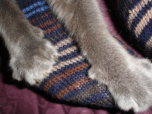Mr JK's Xmas socks 015