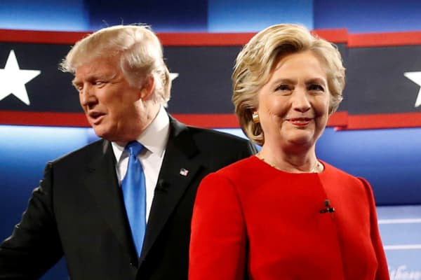 Image result for clinton trump 2nd debate