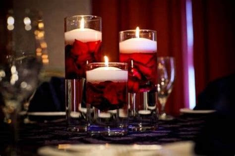 Floating candle centerpieces, candles, centerpieces   XXI
