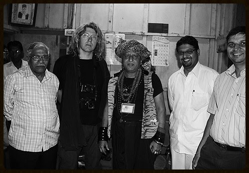 Marc And I Are Both Dam Madar Malangs With Kumar Ketkar Hindu Khadim Of Haji Malang by firoze shakir photographerno1