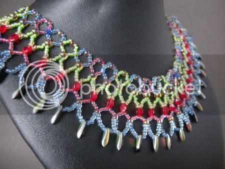 Princess Nefertiti Beadwork Collar