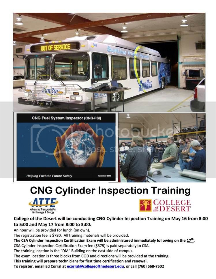 CNG Cylinder Inspection Training