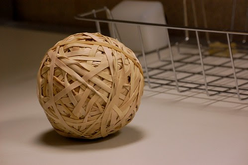 Rubber Band Ball of Death