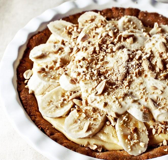 Greedy Gourmand: Banana cream pie with salty bourbon caramel