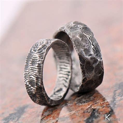 Custom Wedding Ring   Stainless Damascus steel, Mens ring
