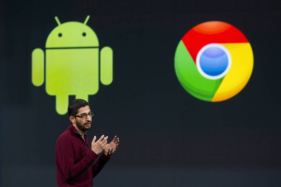 Google CEO Sundar Pichai assumed responsibility for Android, as well as Chrome, in 2013.
