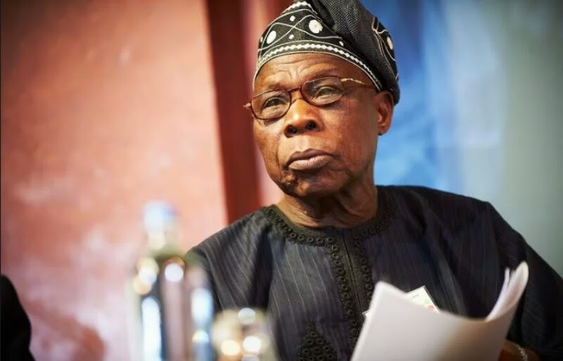 Nigerians React To Obasanjo's Attack On Salisu Buhari, Tinubu And Atiku