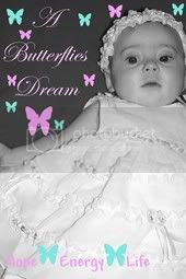 Butterfly dream button