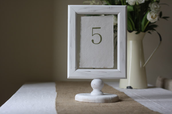 Wedding Table Number Holder Photo Frame Uk Wedding Styling Decor