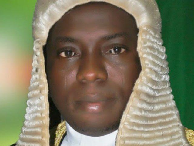 Rt Hon. Suraju Ishola Adekunbi, the Speaker, Ogun State House of Assembly...