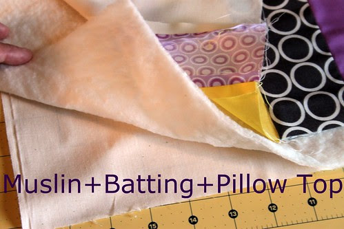 Layers -- Muslin, Batting, Pillow Top