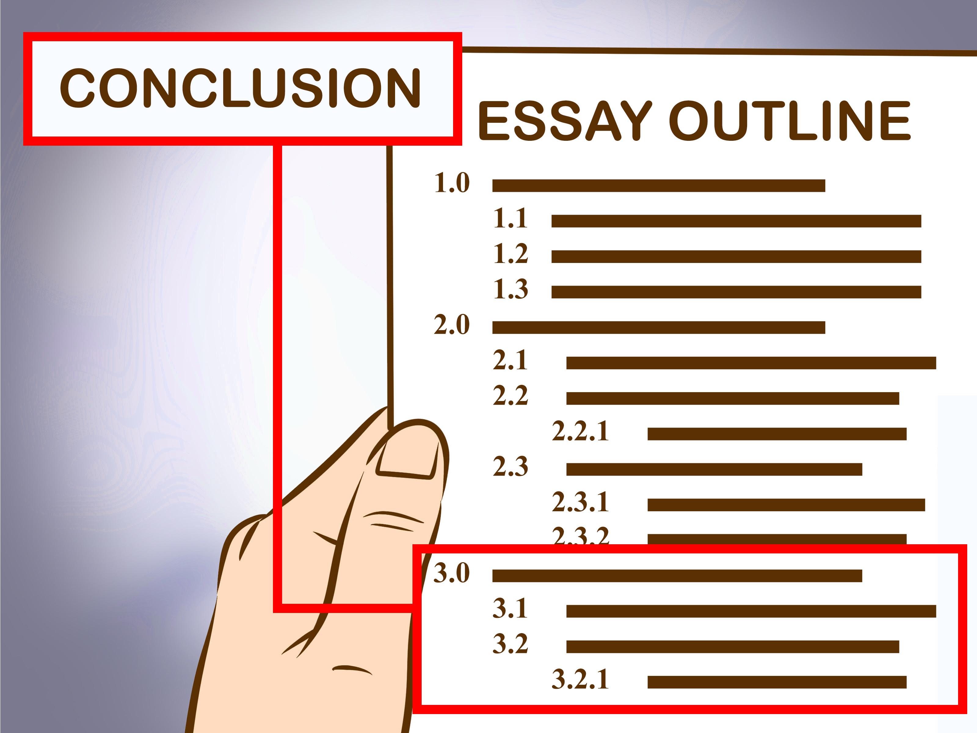how to write a essay outline