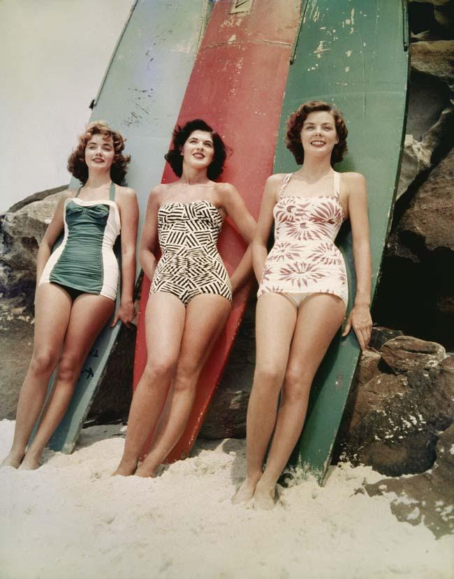 blog wanderlust whimsy megan vintage retro 50s bathing suit