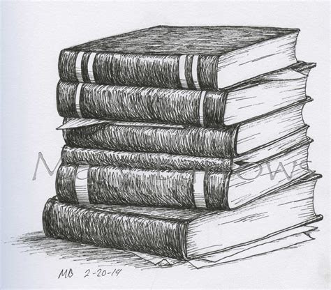 pile  books drawing google search book drawing