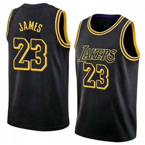 New Los Angeles Lakers Lebron James Jersey #23 Basketball ...