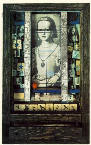 Cornell, Joseph - Untitled (Medici Princess) 1948
