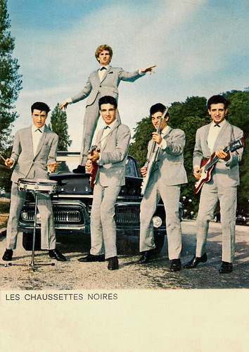 Les Chausettes Noires with Eddy Mitchell,
