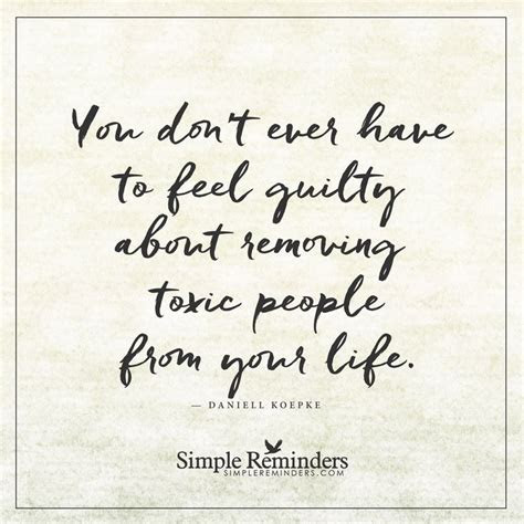 Removing Toxic People Quotes