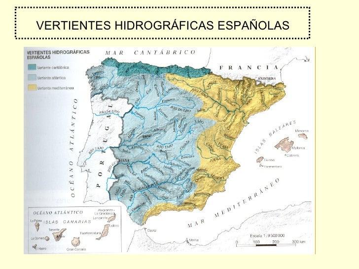 Resultado de imagen de rios de españa y sus afluentes