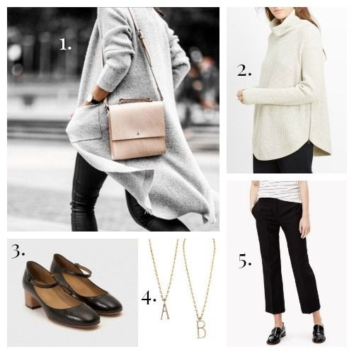 Grace Gordon Handbag - Vince Sweater - A.P.C. Shoes - Lulu Frost Necklace - Theory Trousers