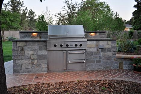 Outdoor Kitchen Denver | Browne & Associates Is The Best Choice ...