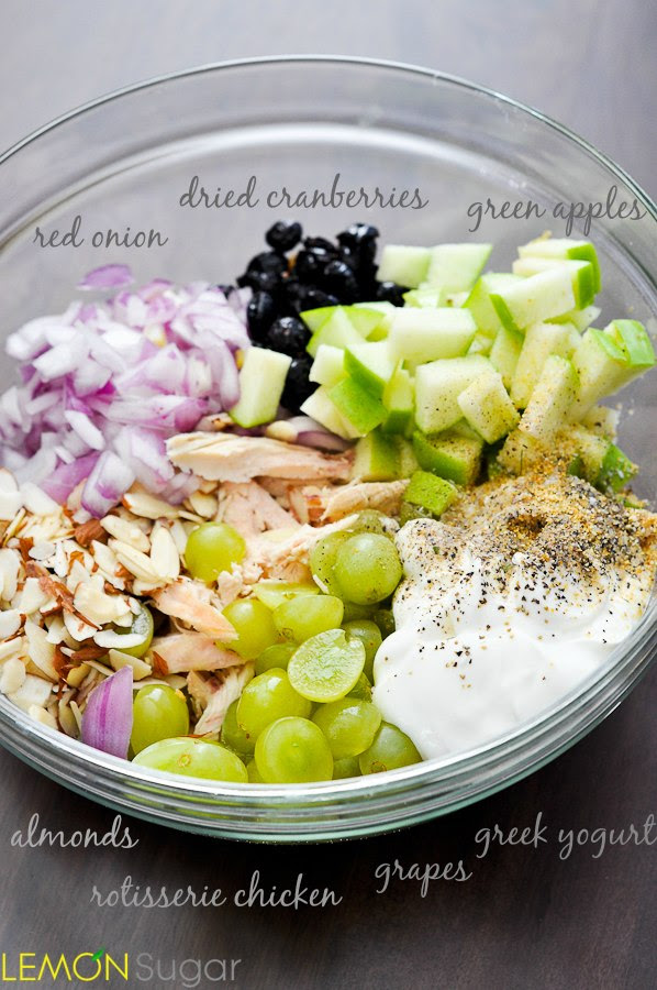 Healthy Chicken Salad | Easy Meals For College Students