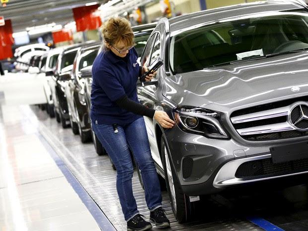Particularidades da indústria alemã ajudam a explicar sucesso de sua economia (Foto: Kai Pfaffenbach/ Reuters)