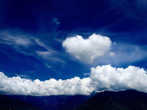 wallpaper dekstop  love  clouds wallpaper