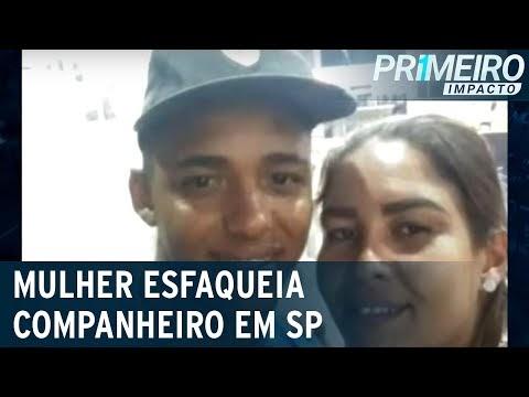 SP: mulher mata companheiro a facadas durante discussão