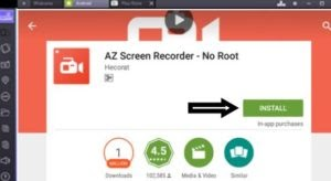 az screen recorder no root apk old version