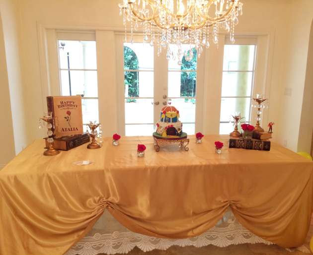 Beauty And The Beast Ball Birthday Party Ideas Themes