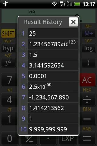 Calculadoras para Android