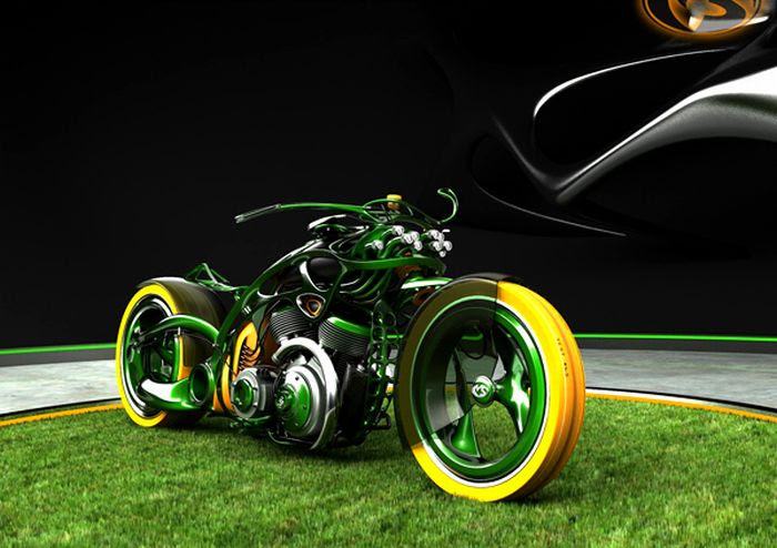 Very Cool Chopper Concepts from Solif (29 pics)