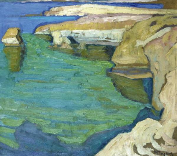Quelques îles Dans La Peinture Grecque Contemporaine 5 Greece