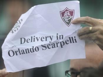 Torcedor tricolor pede para Fluminense 'entregar' no Orlando Scarpelli
