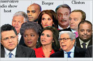 The Many Faces of Political Pundits