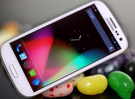 Android Jelly Bean Update For Samsung Galaxy S3