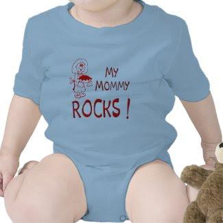 Mommy Rocks ! (red) shirt