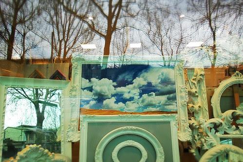Il cielo tra gli alberi e le cornici by Ylbert Durishti