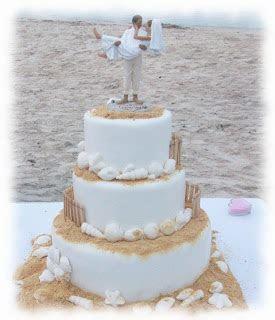 5 Awesome Ideas Beach Wedding Cakes   Wedding Cakes
