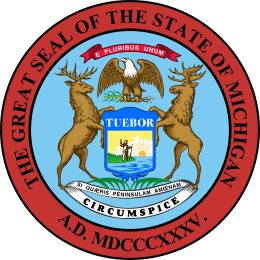 Seal of Michigan.