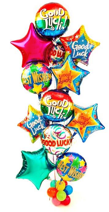 Good Luck Balloons Good Luck Best Wishes
